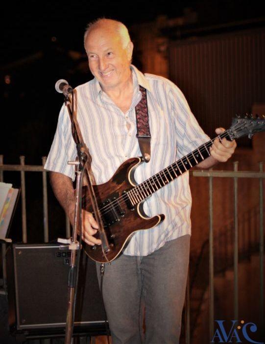 Raymond Pompéi, guitariste des Lav'Angels