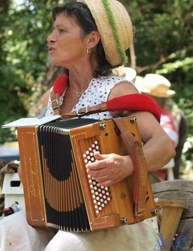 Pascale Petit, professeur d'accordéon à l'AVAC