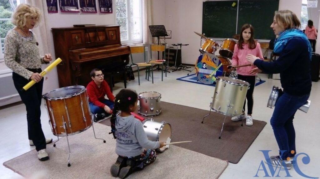 Stéphanie Le Lay, professeur de formation musicale à l'AVAC