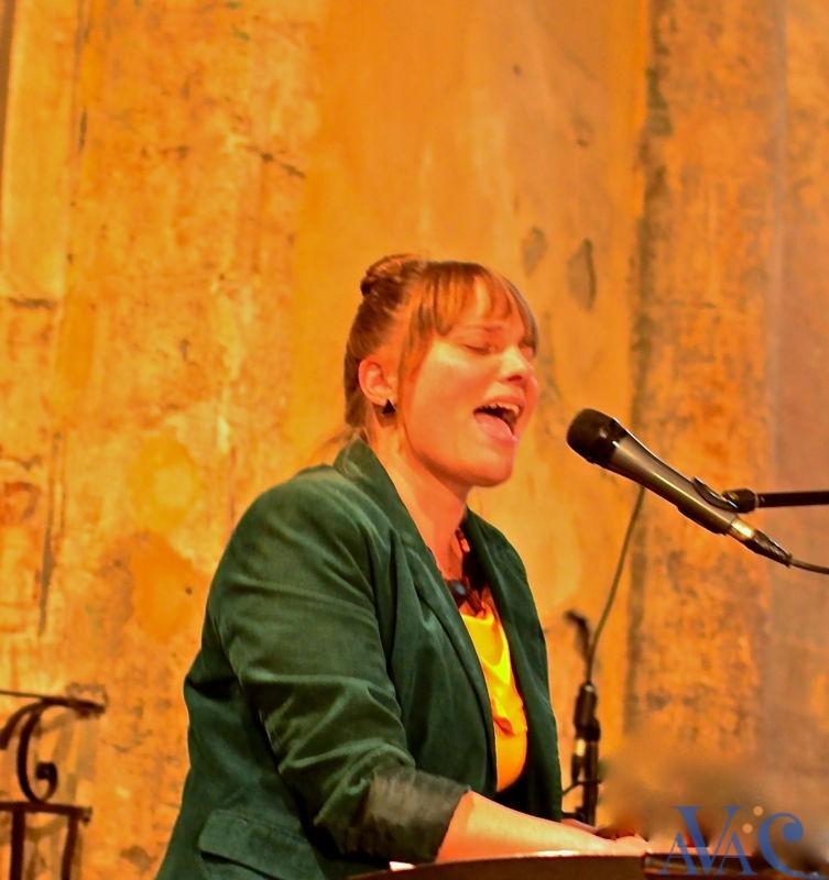 Malvina Pastor, professeur de chant à l'AVAC
