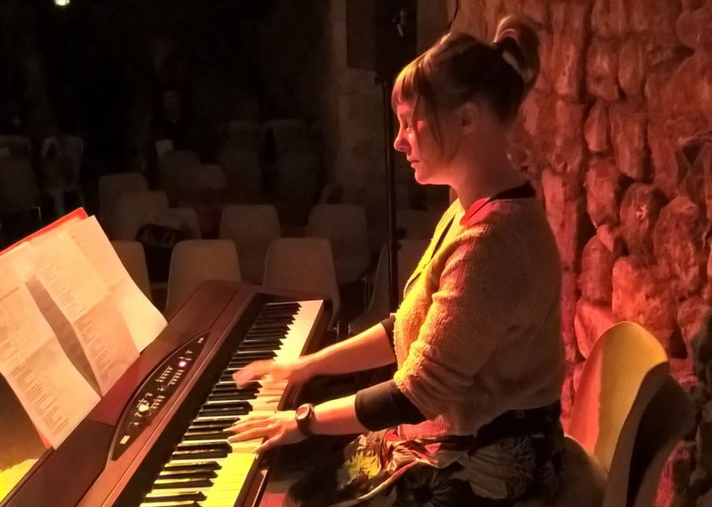 Malvina Pastor, professeur de piano à l'AVAC