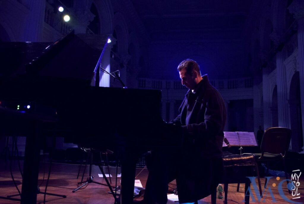 Olivier Maurel, professeur de piano à l'AVAC